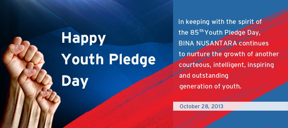 Happy Youth Pledge Day
