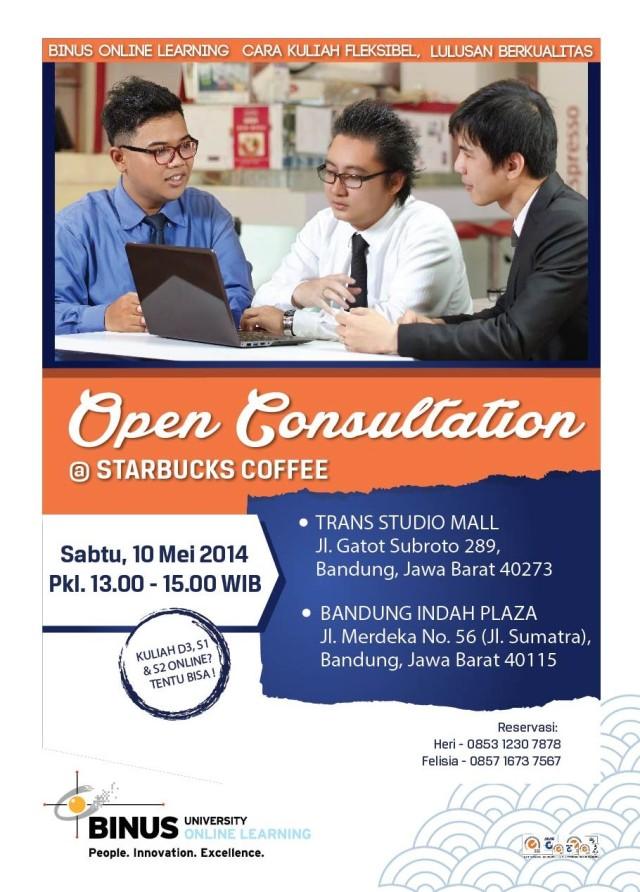 FA flyer open consultation starbucks 3 mei