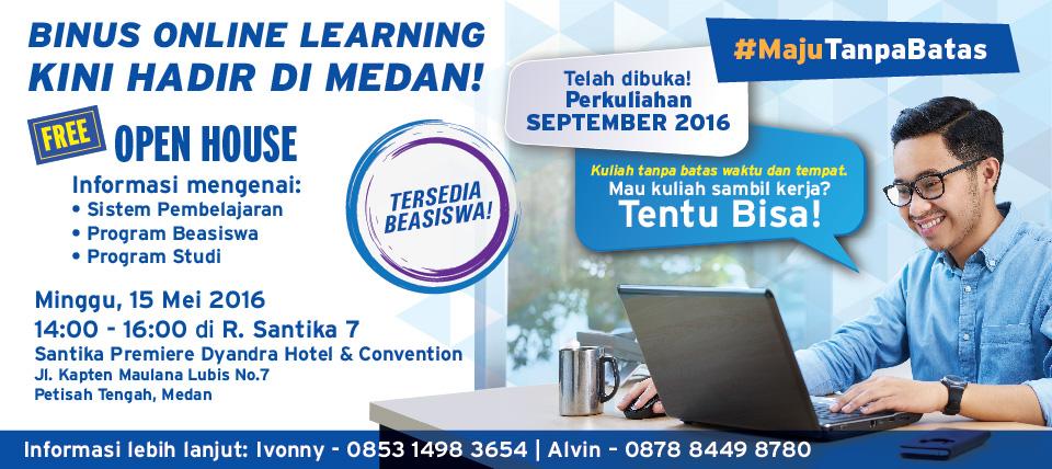 Orientasi Mahasiswa Baru BINUS ONLINE LEARNING Semester Genap 2015/2016 Periode 2