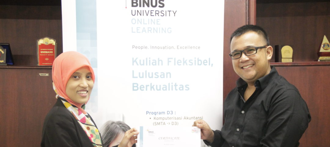 BINUS ONLINE LEARNING KINI HADIR DI KOTAMU