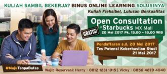 Open Consultation Binus Online Learning