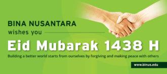 Happy Eid Mubarak 1438 H