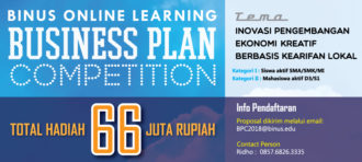 Sukses Karir & Sukses Pendidikan melalui BINUS ONLINE LEARNING