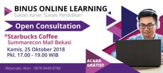 Beasiswa Binus Online Learning