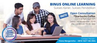 BINUS ONLINE LUAR JAKARTA