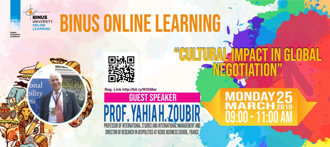 Cultural Impact in Global Negotiation with Prof. Yahia H. Zoubir