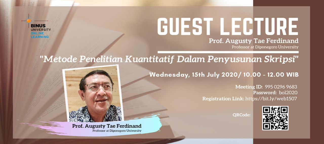 Guest Lecture Binus Online Learning Kuliah Sambil Kerja Binus Online Learning Solusinya